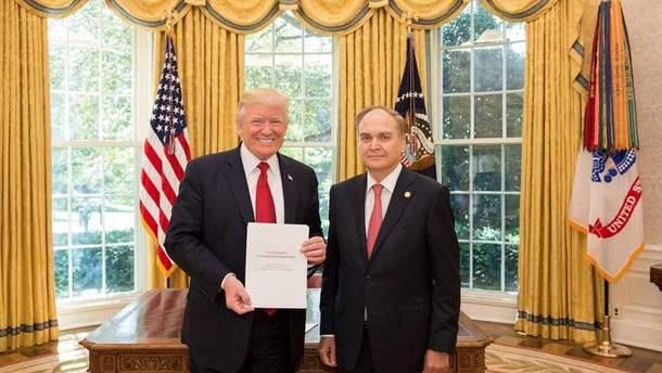 Дональд Трамп і Анатолій Антонов зустрілися у Вашингтоні