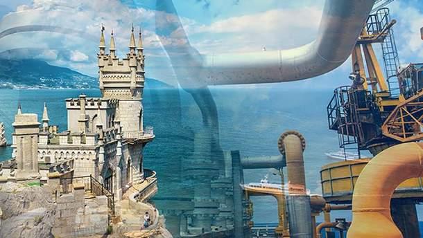 З кожним роком Росія зменшує видобуток газу у Криму