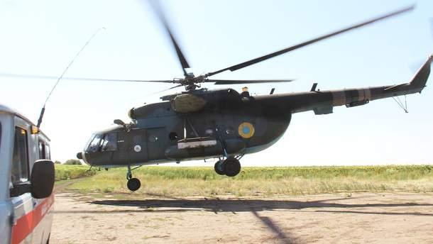 В Винницкой области от лопастей вертолета погиб агроном