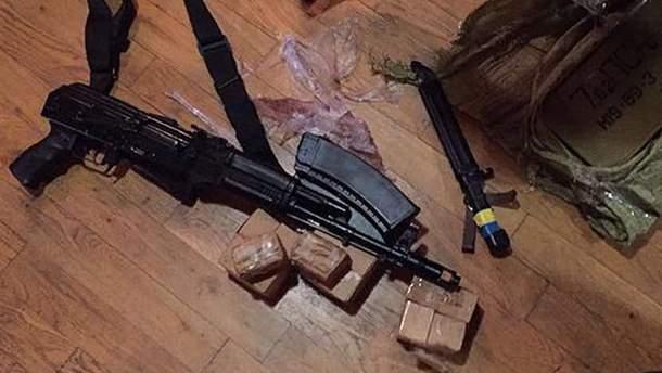 """""""Прорив Саакашвілі"""": поліція знайшла зброю в одного з учасників події"""