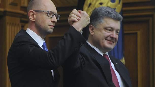 Объединение Порошенко и Яценюка