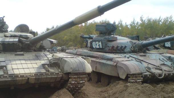 ОБСЄ назвало місця, де бойовики зберігають 175 танків на Донбасі