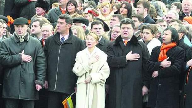 Есть ли на этом кадре будущий президент Украины?