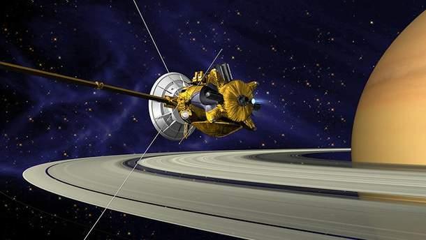 """Зонд """"Кассини"""" (Cassini) будет уничтожен"""