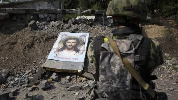 Снайпер боевиков убил еще одного украинского бойца