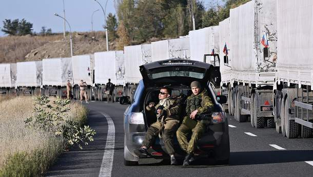 """Нікому невідомо що Росія відправляла на Донбас у """"гумконвої"""""""