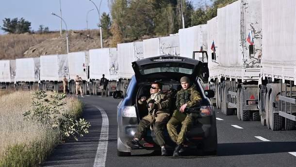 """Никому неизвестно что Россия отправляла на Донбасс в """"гумконвоях"""""""