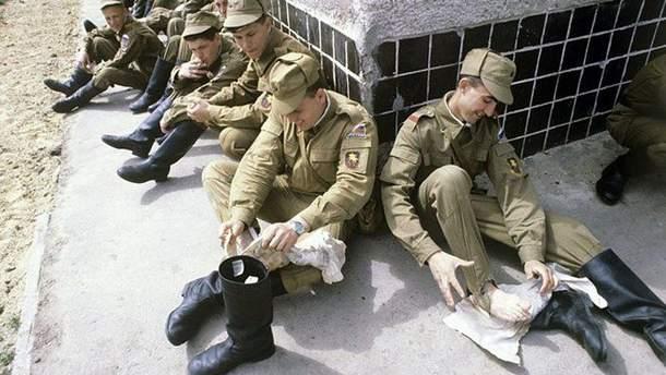 В русской армии возникли проблемы