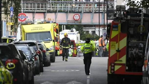 Взрыв в метро Лондона квалифицировали как теракт
