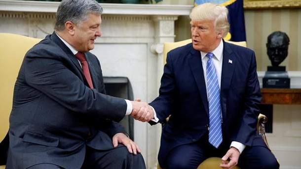 Трамп встретится с Порошенко 21 сентября