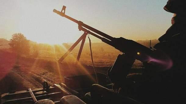 В зоне АТО украинские военные открывают огонь