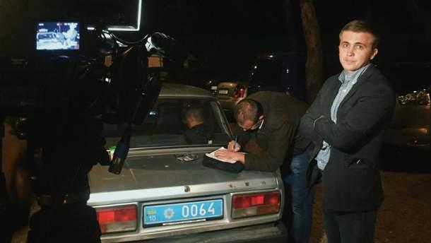 Сотрудники УГО напали на журналистов в Конча-Заспе