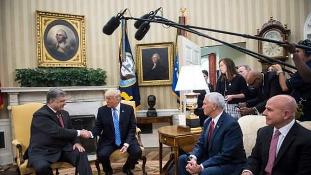 Зустріч Порошенка з Трампом запланована на 21 вересня