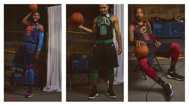Nike представила нові альтернативні комплекти форм для команд NBA