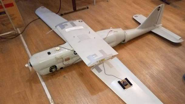 В зоне АТО упал российский беспилотник