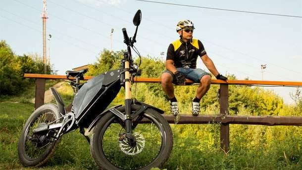 Украинцы создали электробайк с длинным запасом хода