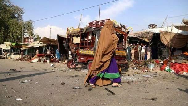 Вибух в Афганістані