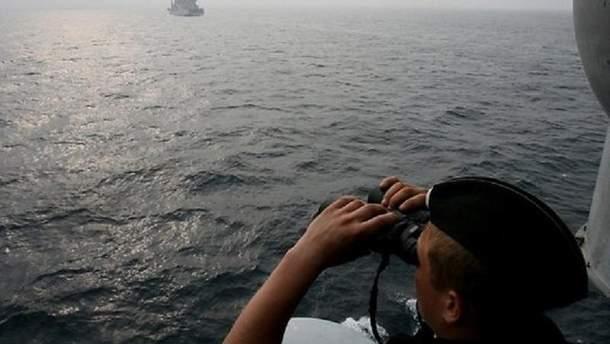 Российские корабли опасно приблизились к Латвии