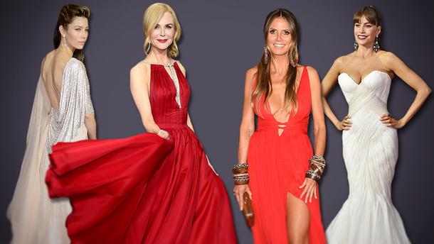 Эмми-2017: самые стильные платья