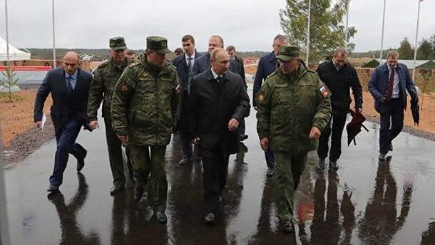 """Путін прибув на військові навчання """"Захід-2017"""""""