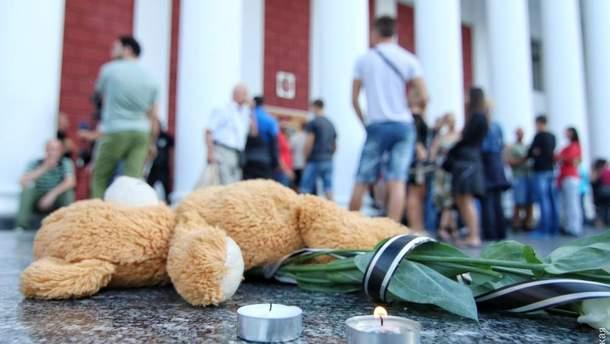 В Одессе заживо сгорели трое детей
