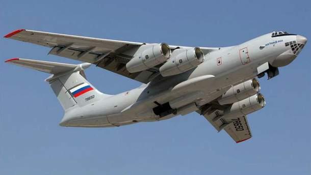 Російські Іл-76 вторглись у повітряний простір Литви
