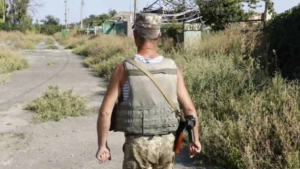 Двое украинских воинов ранены в зоне АТО