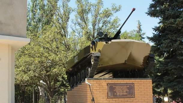 В Луганске снова взорвали памятник террористам
