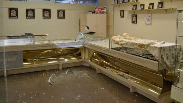 Пограбування в Миколаєві