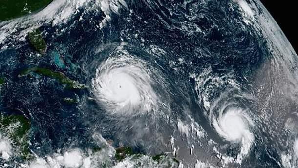 """В Атлантике новый ураган """"Мария"""""""