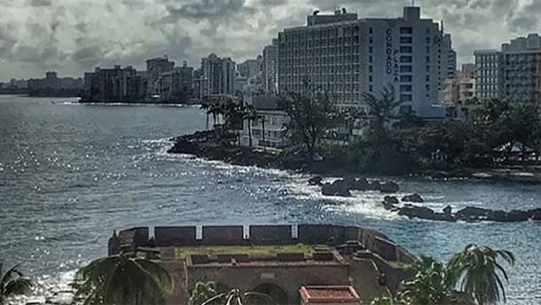 Ураган Марія наближається до Пуерто-Рико