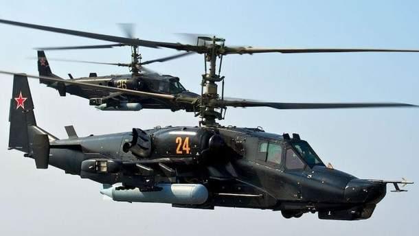 Военный вертолет Ка-52