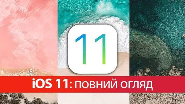 iOS 11: дата виходу, огляд та функції