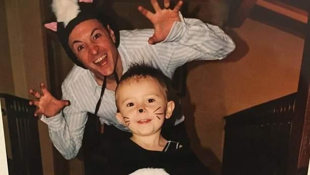 Честер Беннингтон и сын Дрейвен от первого брака (архивное фото)