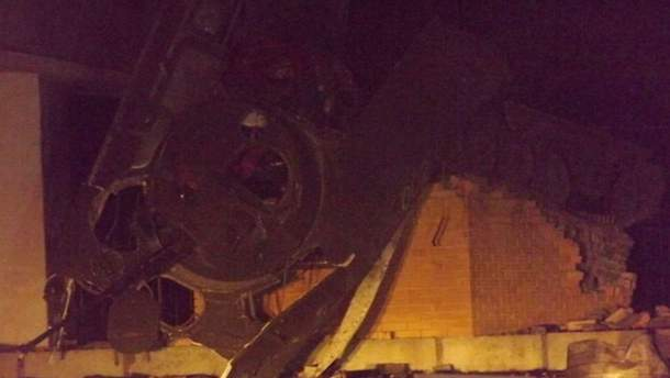 В Луганске подорвали танк террористов