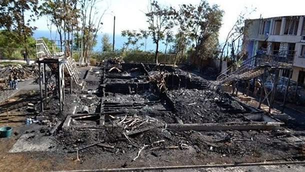 Из-за пожара в лагере в Одессе Труханов отстранил нескольких чиновников