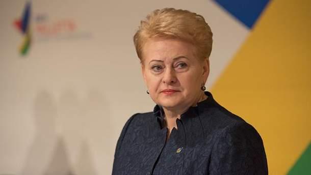 Перед виступом Грібаускайте Генасамблею ООН покинула делегація з Росії