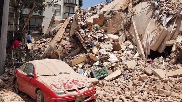 Землетрясение в Мексике 2017