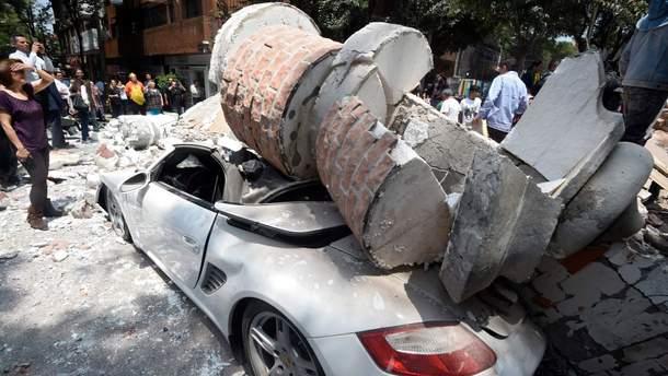 Последствия нового землетрясения в Мексике