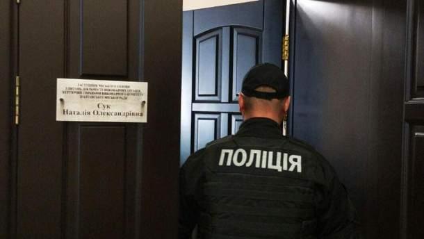Обыски в Полтавском горсовете
