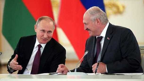 Лукашенко пошутил о Путине
