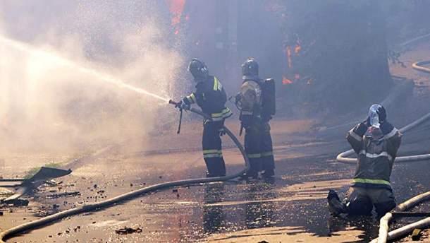 Пожежа в Ростові-на-Дону