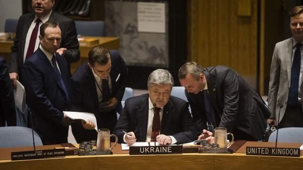 Порошенко розповів, чим пов'язані Крим та Сирія