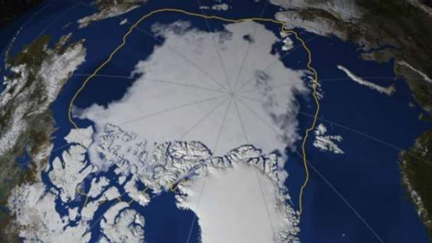 Таяние ледников Арктики