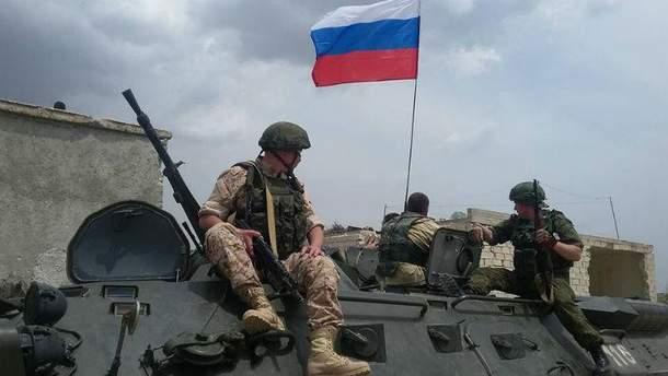 Російські військові потрапили в оточення у Сирії