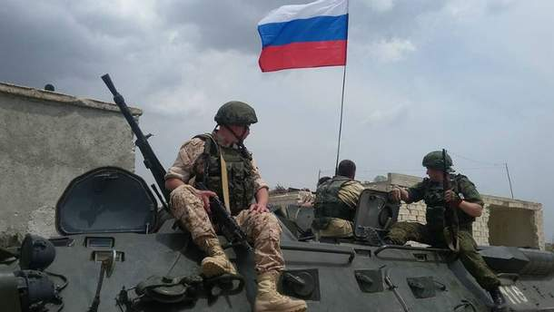 Российские военные попали в окружение в Сирии