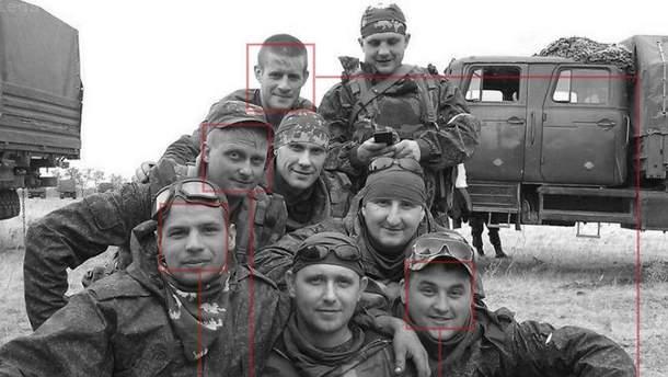 Ідентифікували  російських морпіхів, що воюють в АТО