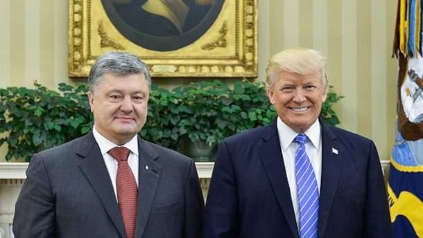 Встреча Порошенко с Трампом 21 сентября продлится час