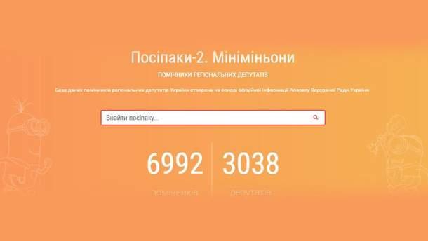 """Сайт """"Миньоны-2"""""""