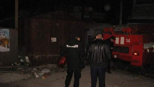 Полиция расследует взрыв в Умани